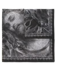 Givenchy - Black Christ Print Scarf - Lyst