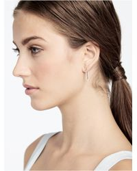 BaubleBar | Metallic Ice Crisscross Ear Jackets | Lyst