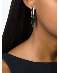 Isabel Marant - Metallic Layered Earrings - Lyst