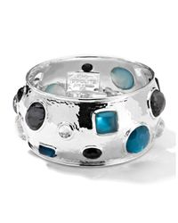 Ippolita - Metallic Wonderland Mosaic Crystal Bangle - Lyst