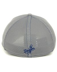 KTZ | Los Angeles Dodgers Gray Neo 39Thirty Cap for Men | Lyst