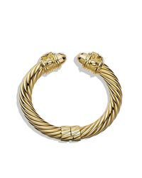 David Yurman - Metallic Renaissance Bracelet, 10mm - Lyst