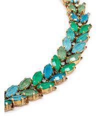 Aerin - Green X Erickson Beamon Crystal Vine Bracelet - Lyst