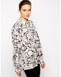 WOOD WOOD - Multicolor Silk Printed Floria Shirt - Lyst