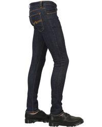 Nudie Jeans - Blue 16.5cm Skinny Lin Brut Denim Jeans for Men - Lyst