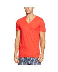 Polo Ralph Lauren | Blue Cotton V-neck T-shirt 3-pack for Men | Lyst