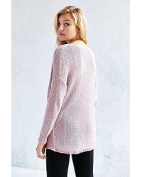 Kimchi Blue | Gray Sunny Surplice Sweater | Lyst
