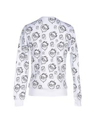 BOY London - White Sweatshirt for Men - Lyst