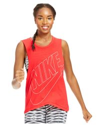 Nike | Red Signal Muscle Tank | Lyst