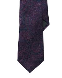 Lauren by Ralph Lauren | Blue Paisley Silk Jacquard Tie for Men | Lyst