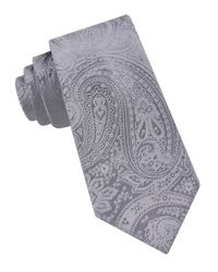 MICHAEL Michael Kors | Metallic Slim Paisley Tie for Men | Lyst