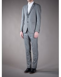 Moschino - Gray Suit Blazer for Men - Lyst