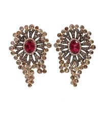 Wendy Yue | Brown Fancy Diamond Earrings | Lyst