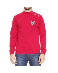Versus - Red Sweater for Men - Lyst