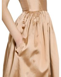 Maria Lucia Hohan - Natural Silk Taffeta Bustier Dress - Lyst
