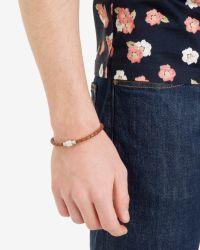 Ted Baker | Orange Singleb Band Bracelet for Men | Lyst