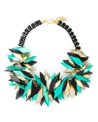 Silvia Rossi | Blue 'cryptonite' Necklace | Lyst