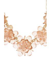 Coast | Orange Fern Flower Necklace | Lyst