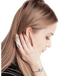 Pixie Market - Metallic Cicada Heirloom Ring - Lyst