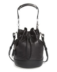 Mackage | Black 'mini Dafney' Bucket Bag | Lyst