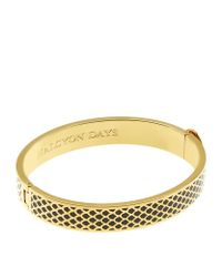 Halcyon Days | Metallic Gold Salamander Bangle | Lyst