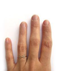 Gabriela Artigas | Metallic Infinite Heart Ring In 14k Yellow Gold | Lyst