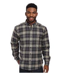 Woolrich - Black Trout Run Flannel Shirt for Men - Lyst
