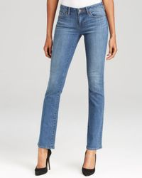 Elie Tahari | Blue Farah Bootcut Jeans In Authentic | Lyst