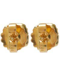 Larkspur & Hawk - Metallic Small Gold Topaz Jane Post Earrings - Lyst