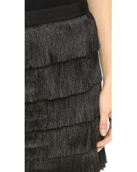 Club Monaco - Black Trisa Skirt - Lyst