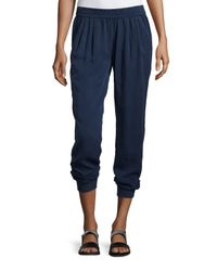 Fade To Blue - Blue Slouchy Jogger Pants - Lyst