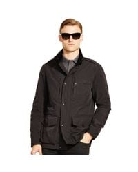 Ralph Lauren Black Label | Black Slim-fit Steering Jacket for Men | Lyst