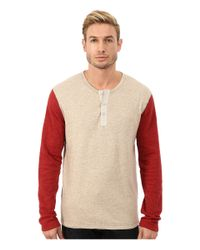 Lucky Brand | Multicolor Duofold Henley for Men | Lyst