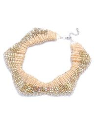 Nakamol | Multicolor Shooting Star Necklace-cream Crystal | Lyst