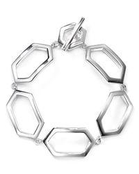 Ralph Lauren - Metallic Lauren Openwork Bracelet - Lyst