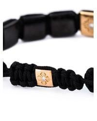 Shamballa Jewels | Black Beaded Bracelet | Lyst