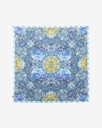 Athena Procopiou - Batiko Blue Scarf - Lyst