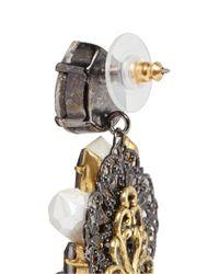 Erickson Beamon - Metallic 'weeping Angel' Crystal Drop Earrings - Lyst
