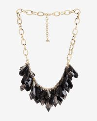 Ted Baker - Metallic Jewel Droplets Necklace - Lyst