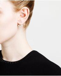 Yvonne Léon | Metallic 18k Gold And Pearl Stud Earring | Lyst