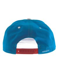 Adidas - Blue Originals Ac Trefoil Cap Sol for Men - Lyst