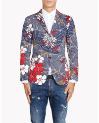 DSquared² | Blue Capri Jacket for Men | Lyst