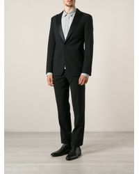 Giorgio Armani - Black Classic Formal Suit for Men - Lyst