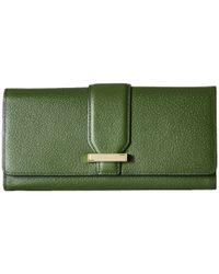 Lodis | Green Stephanie Under Lock & Key Alix Trifold Wallet | Lyst