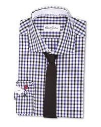 Robert Graham | Blue Berlin Dress Shirt for Men | Lyst