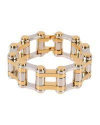Balenciaga - Metallic Bracelet - Lyst