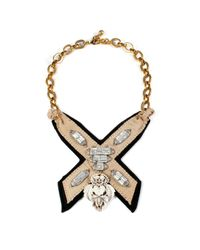 Lulu Frost | Multicolor Bette Bib Necklace | Lyst