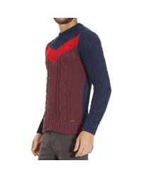 DIESEL - Blue Sweater for Men - Lyst