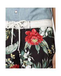 Denim & Supply Ralph Lauren - Multicolor Floralprint Board Shorts - Lyst