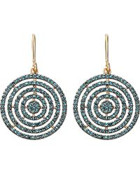 Astley Clarke | Blue Icon Aura 14ct Yellow-gold And Diamond Earrings | Lyst